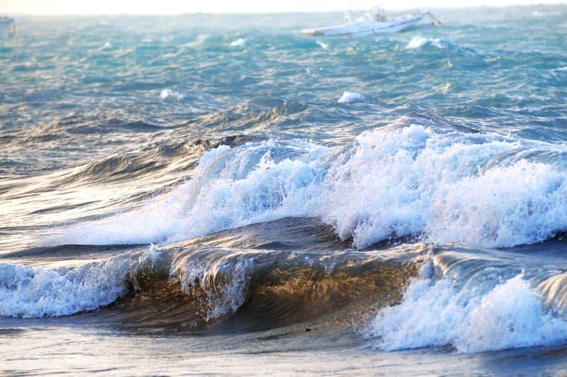 burzliwe oceanu obraz stock