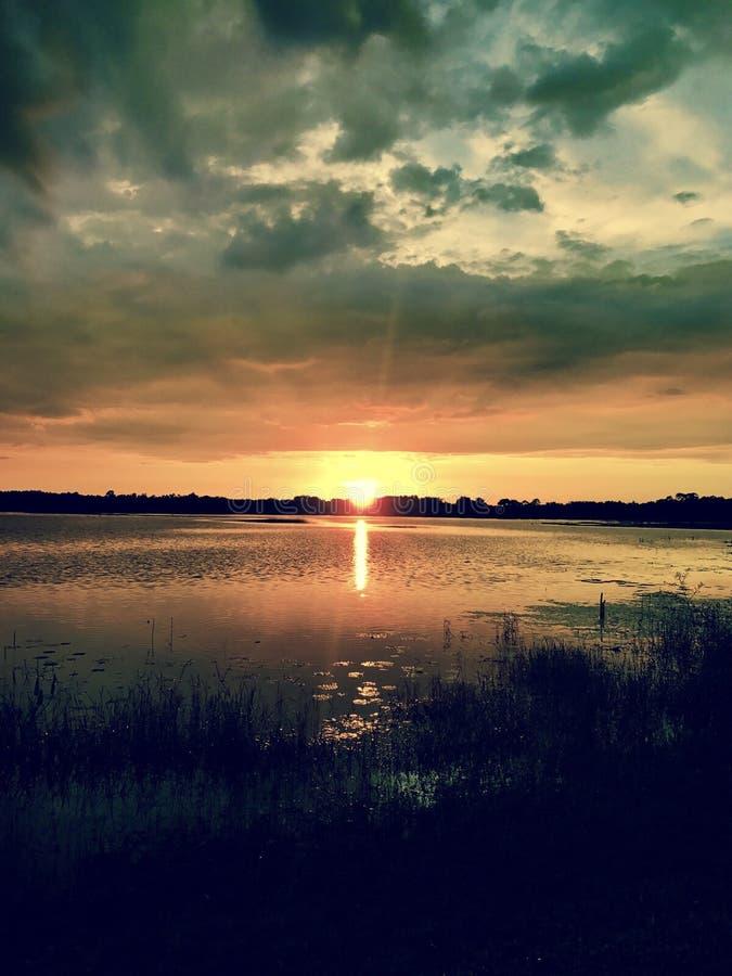 burzliwe słońca fotografia royalty free