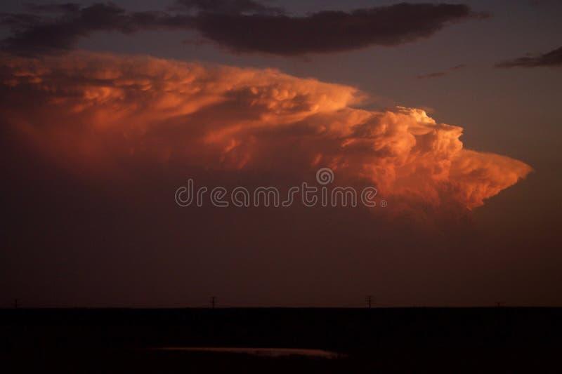 Burzowa chmura zdjęcia stock