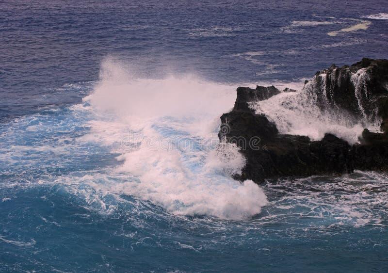 Burzy kipiel w Hawaii obrazy royalty free