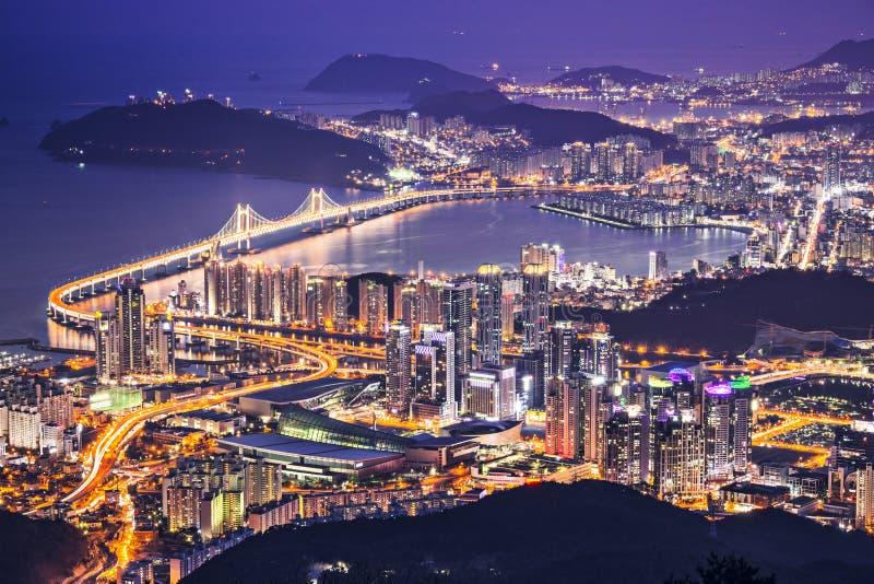 Busán, Corea del Sur imagen de archivo
