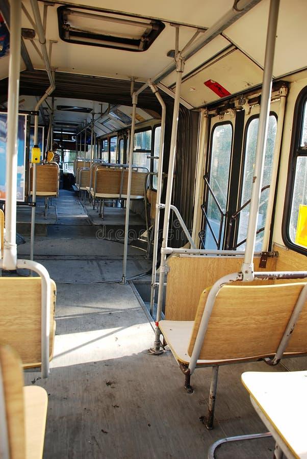 Bus à l'intérieur photographie stock libre de droits