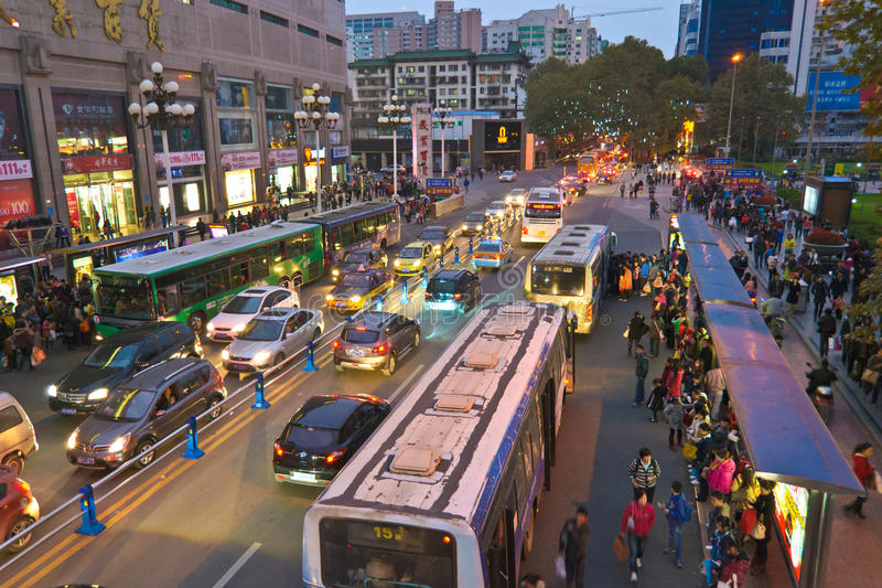 Download Bus editorial stock image. Image of transportation, china - 22531389