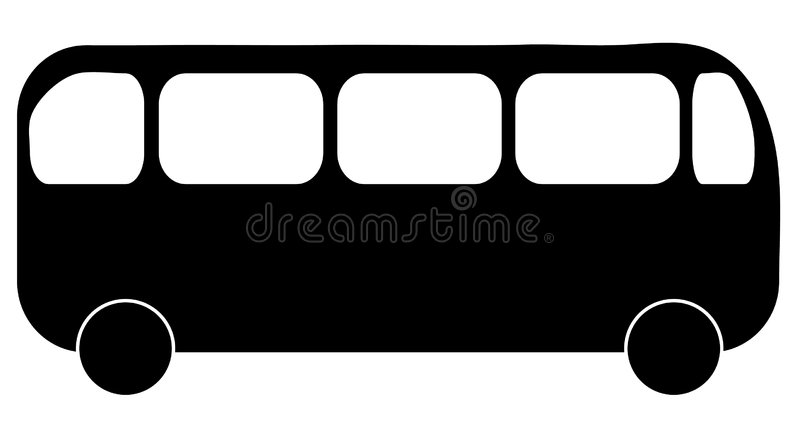 Bus stock illustration