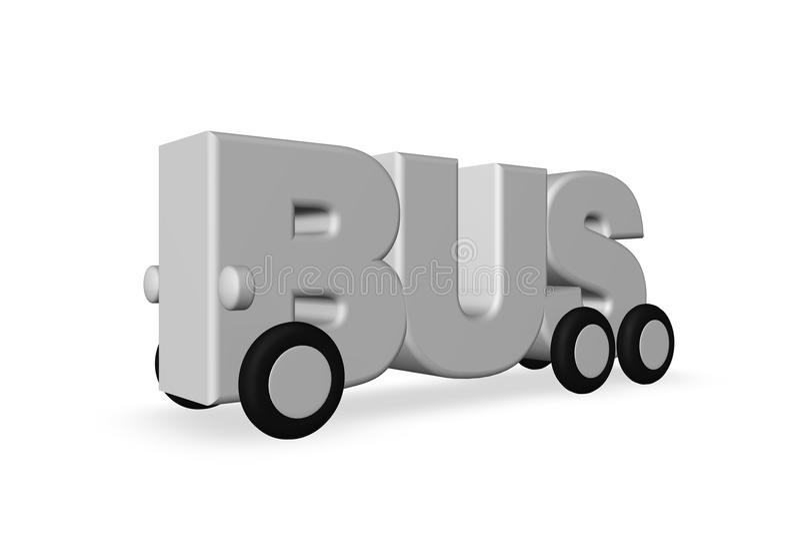 Bus illustration de vecteur