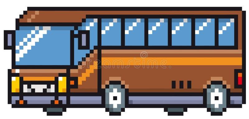 Bus de dessin animé illustration libre de droits