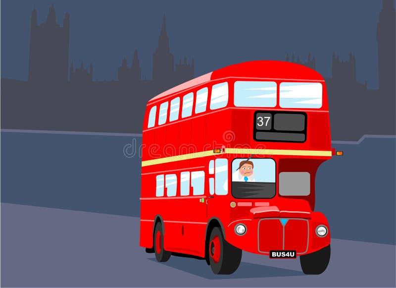 Bus de Londres illustration de vecteur