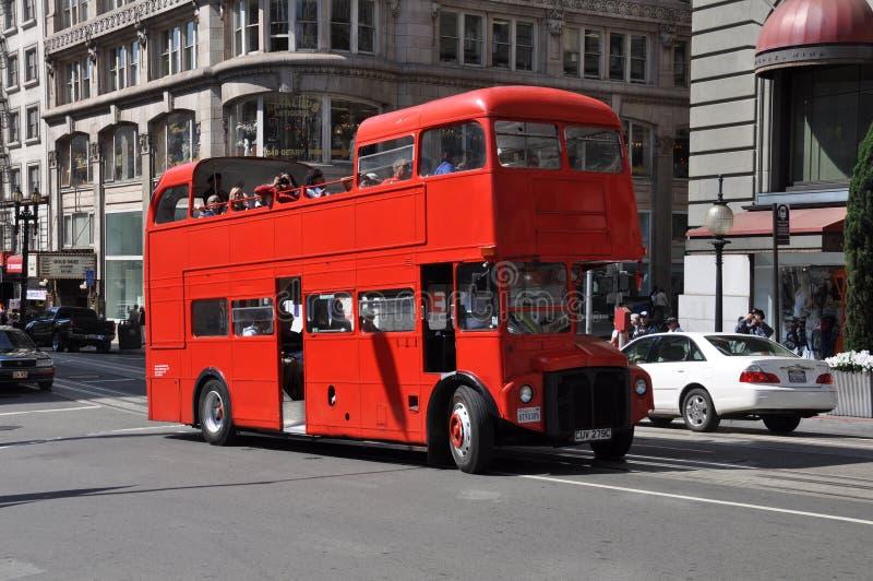 Bus de touristes de San Francisco photos libres de droits