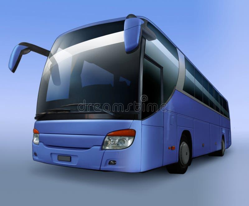 Bus di giro illustrazione vettoriale