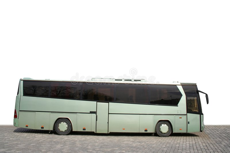 Bus di giro fotografia stock