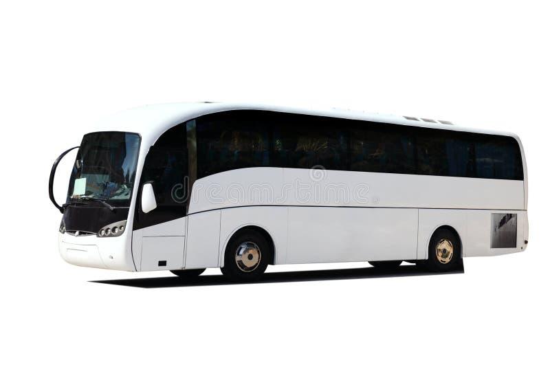 Bus di giro bianco immagine stock