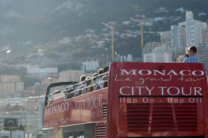 Bus di Grand Tour della città del Monaco immagini stock libere da diritti