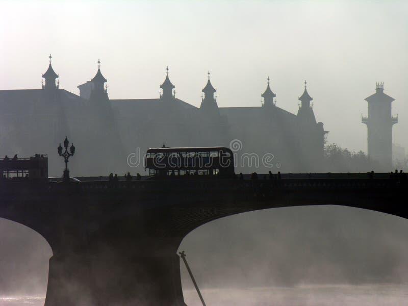 Bus di Londra fotografia stock libera da diritti
