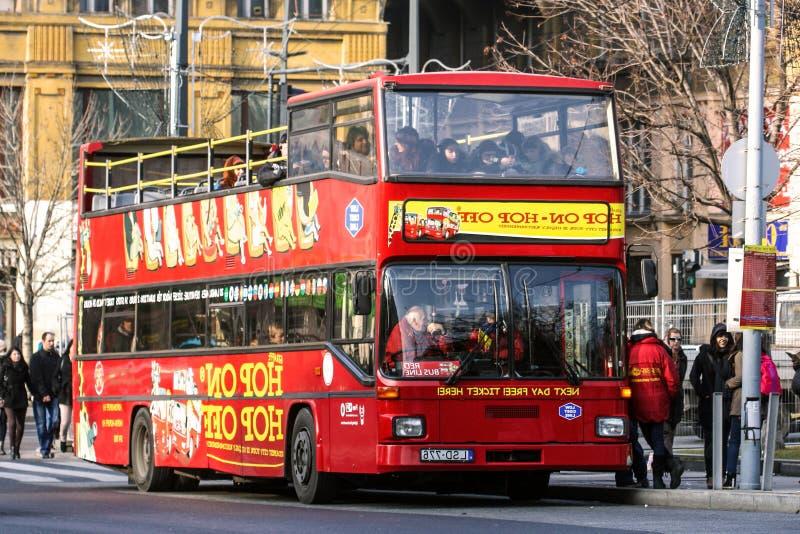 Bus di turisti immagini stock
