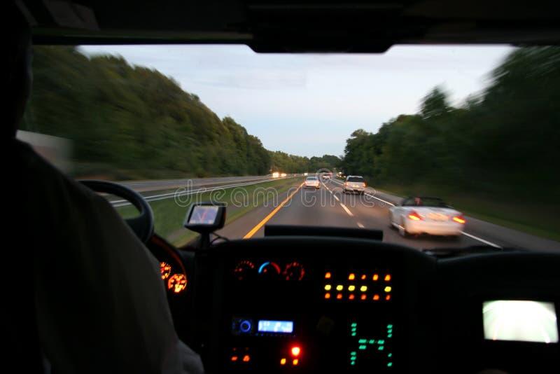 Bus di viaggio immagine stock libera da diritti