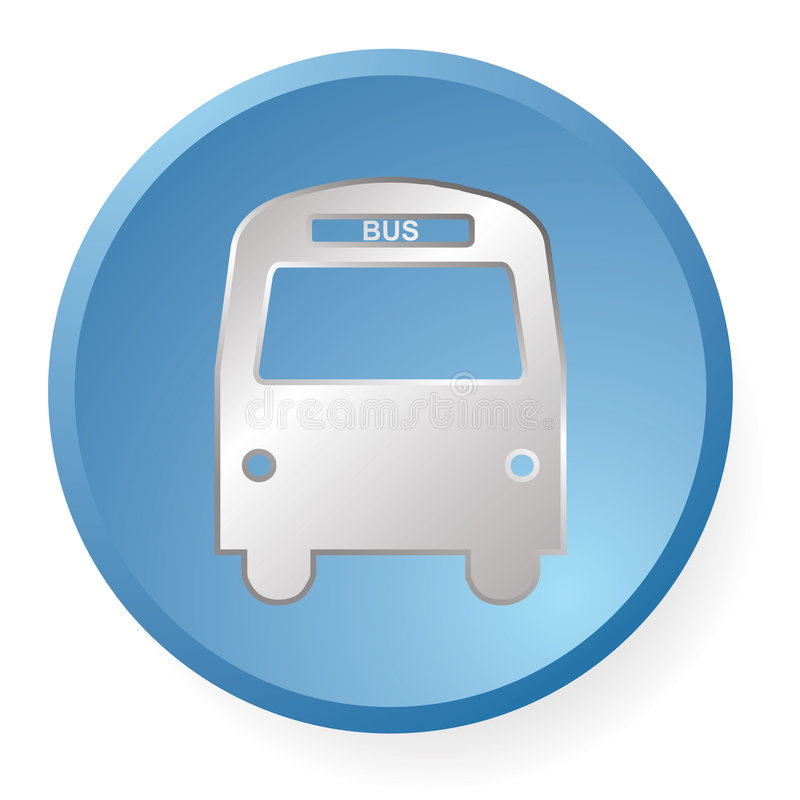 Download Bus Icon Royalty Free Stock Photos - Image: 8343808