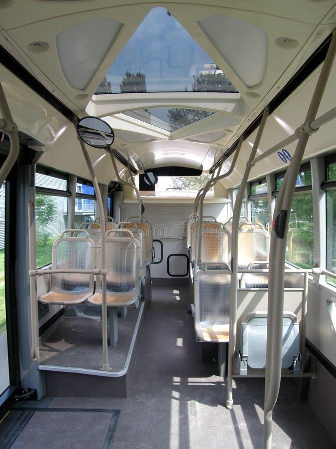 Bus-Innenraum stockfotos