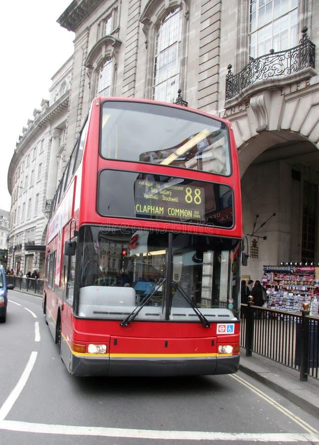 Bus in Londen stock fotografie