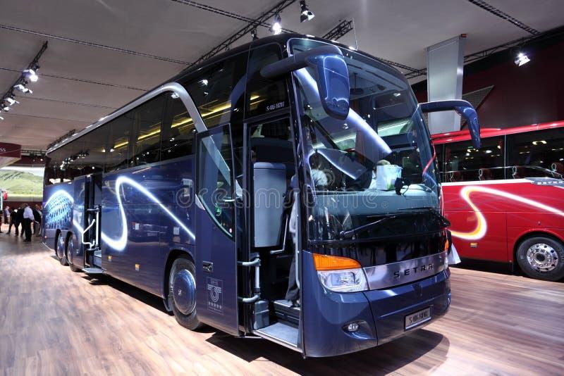 bus neuf de setra s 416 hdh photographie ditorial image du transport exposition 26872782. Black Bedroom Furniture Sets. Home Design Ideas