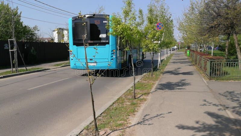 Otokar bus on street stock photos