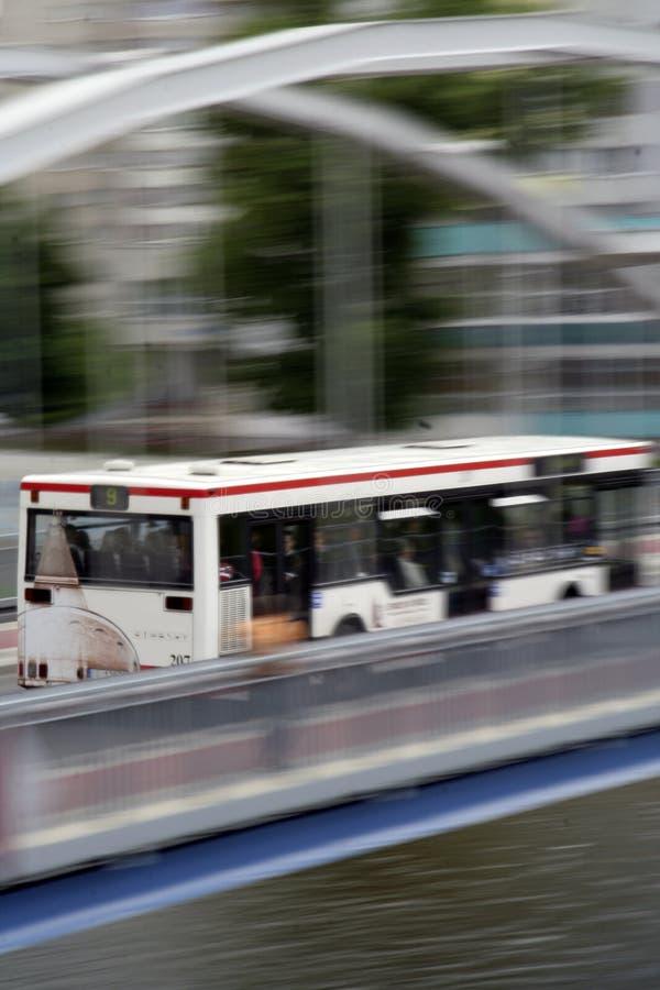 Bus prompt photo libre de droits