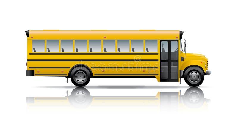 bus school διανυσματική απεικόνιση