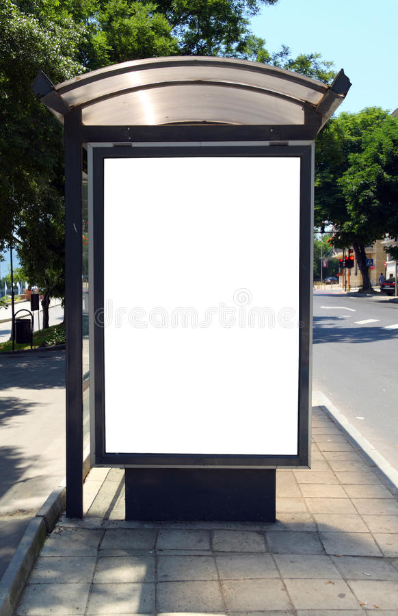 Free Bus Shelter Royalty Free Stock Photos - 14780788
