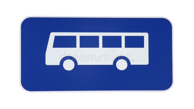 Download Bus Sign stock photo. Image of automotive, urban, sign, transport - 11372