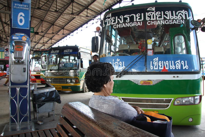 Download Bus station editorial stock image. Image of east, city - 23404514