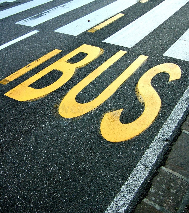 Download Bus Stop Stock Photo - Image: 1404380