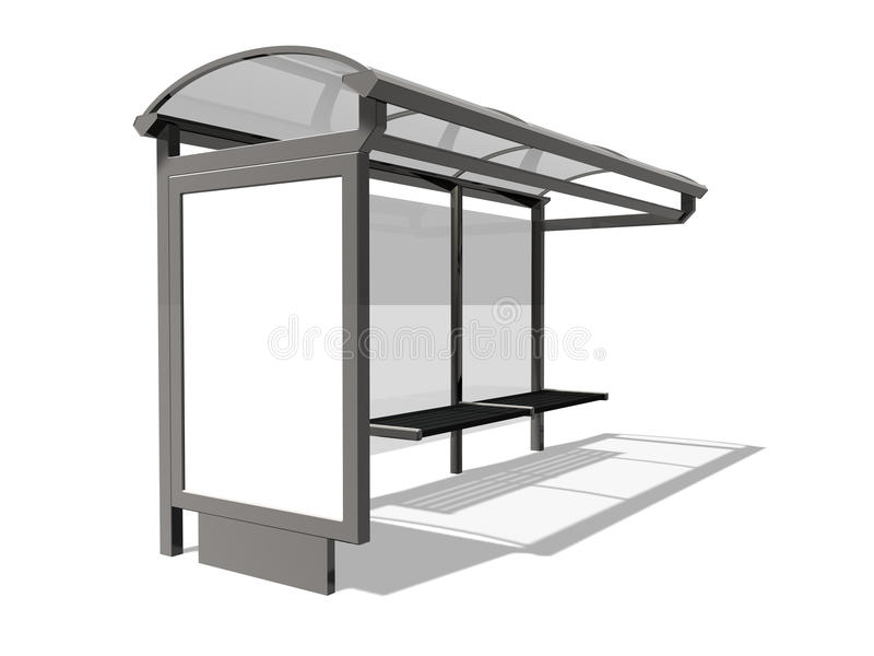 Download Bus Stop Stock Photos - Image: 21062473