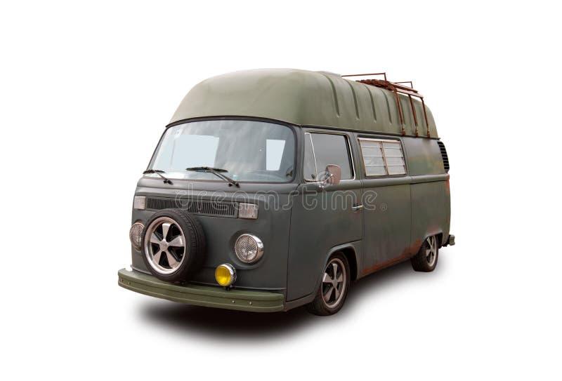 Bus tedesco d'annata immagini stock