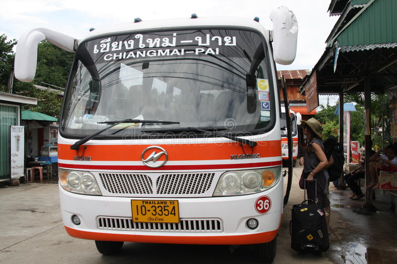 Download Bus in Thailand editorial image. Image of east, street - 21022805