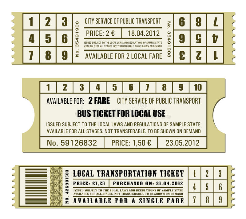 how to get a bus ticket
