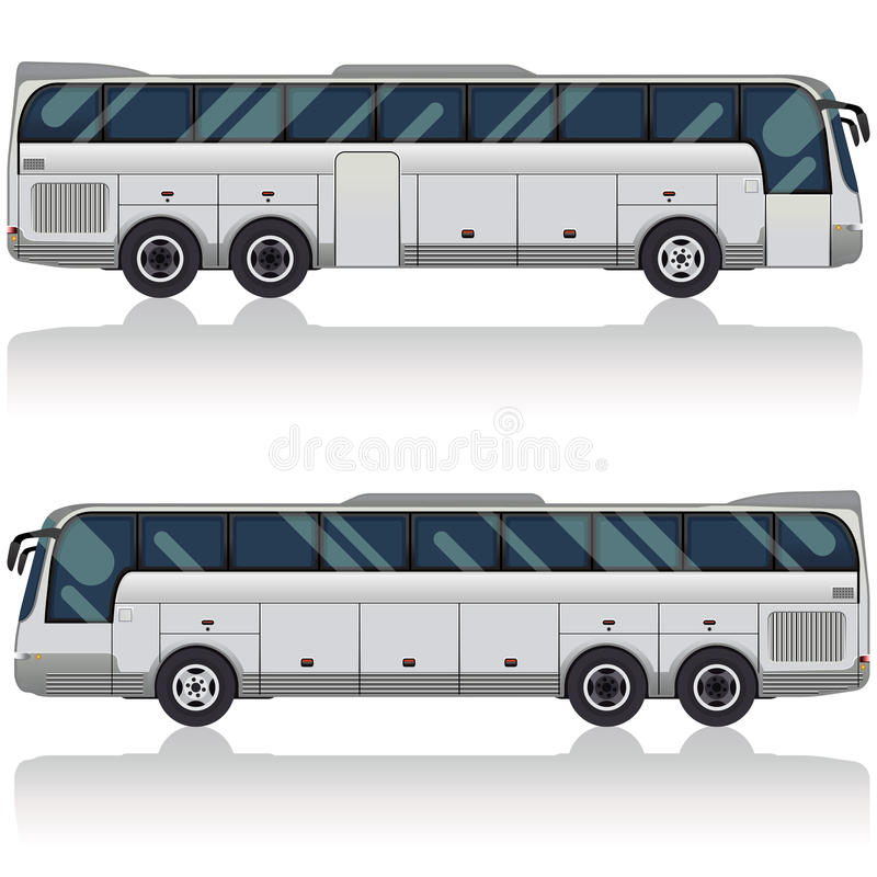 bus tourist иллюстрация вектора