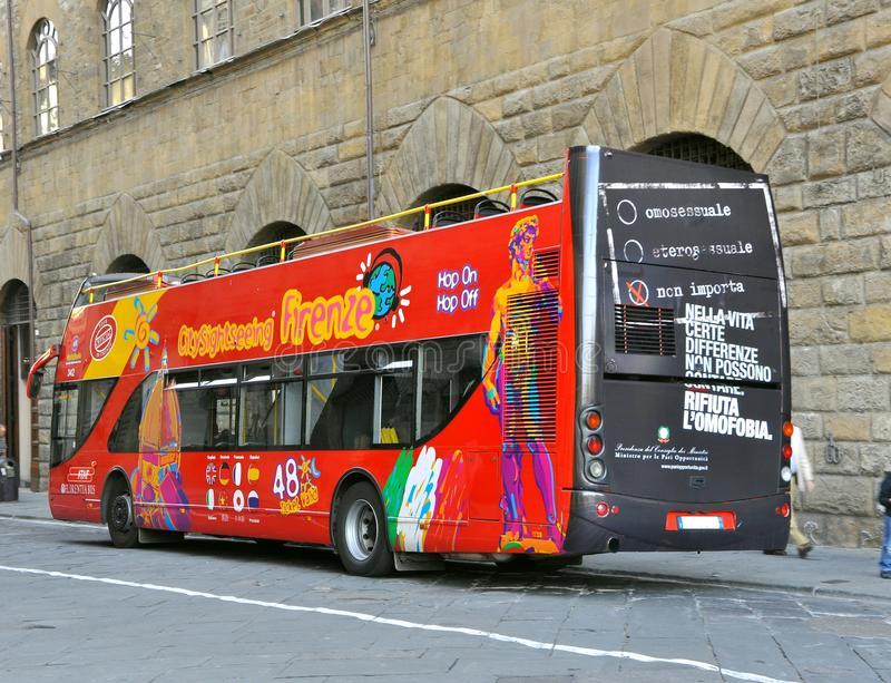 Bus touristique images libres de droits