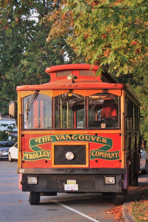 Bus turístico de Vancouver imágenes de archivo libres de regalías