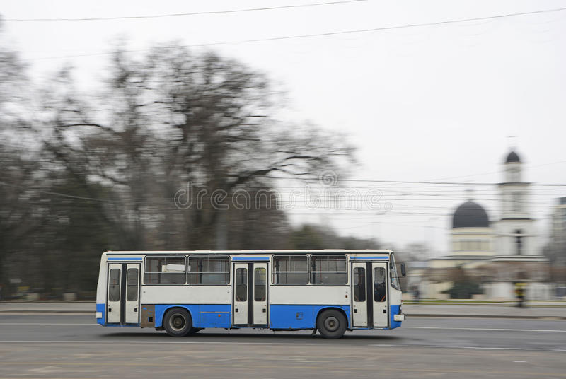 Bus stock image