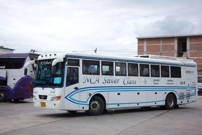 Bus van Nakhonchai-lucht Route Bangkok en Nakhonpanom stock afbeeldingen