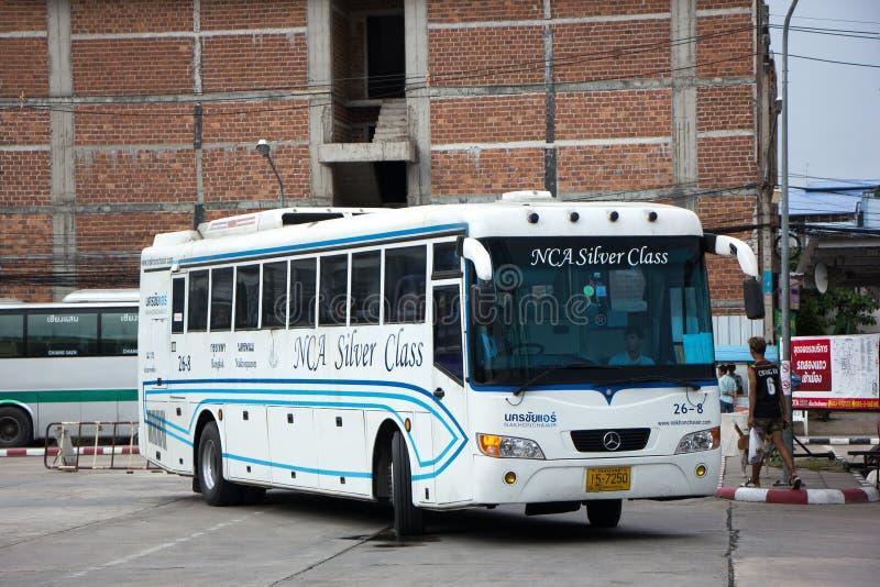 Bus van Nakhonchai-lucht Route Bangkok en Nakhonpanom stock foto's