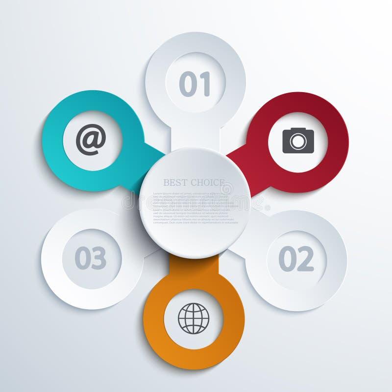Download Busainess Moderne De Vecteur Infographic Illustration de Vecteur - Illustration du présentation, symbole: 45360149