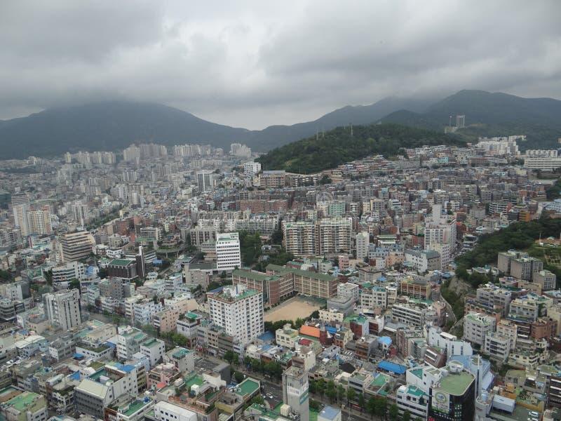 Busan dalla cima fotografia stock libera da diritti