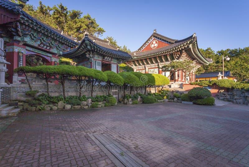Haedong Yonggungsa Temple in Busan, South Korea. BUSAN, KOREA - SEPTEMBER 7, 2014: Haedong Yonggungsa Temple in Busan, South Korea royalty free stock image