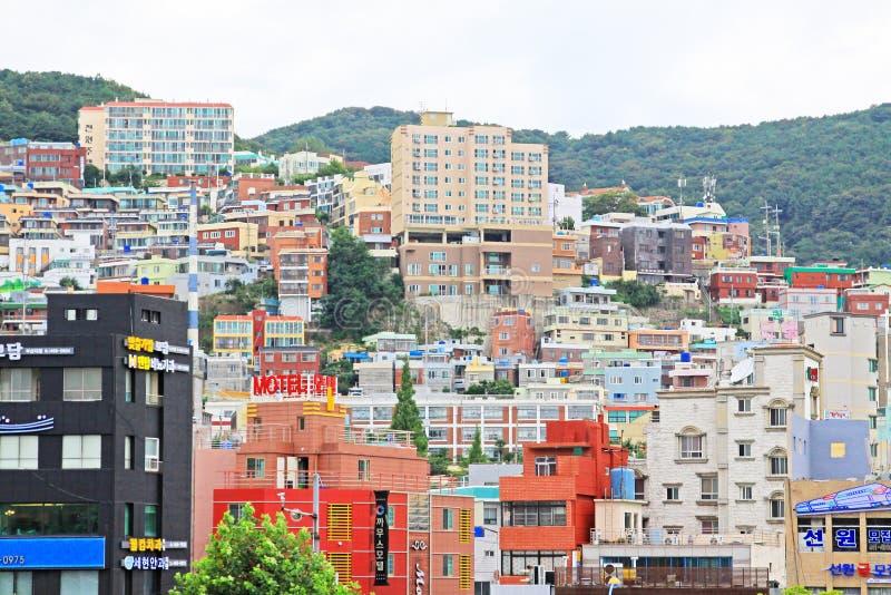 Busan pejzaż miejski obraz royalty free