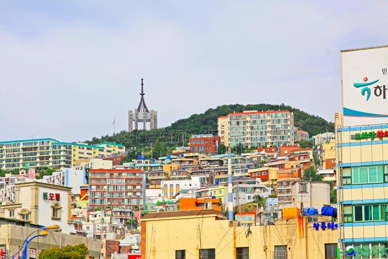 Busan pejzaż miejski zdjęcie royalty free