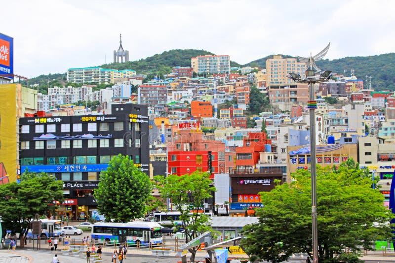 Busan pejzaż miejski obraz stock