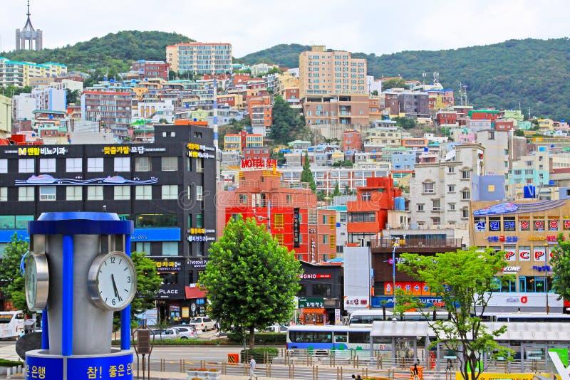 Busan pejzaż miejski zdjęcia stock