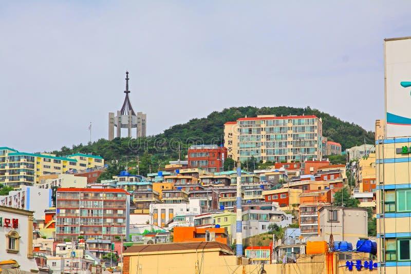 Busan pejzaż miejski zdjęcie stock