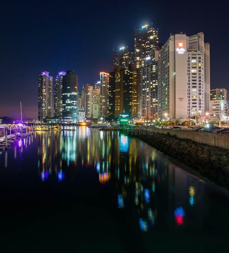 Busan pejzaż miejski fotografia royalty free