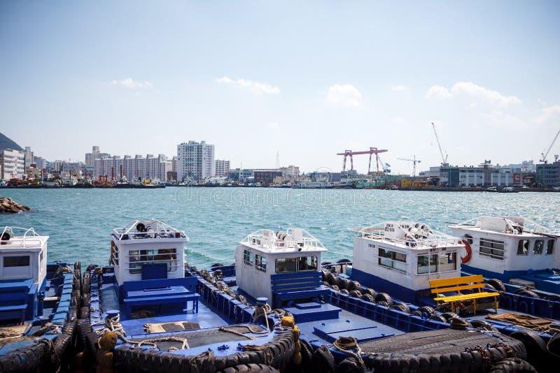 Busan Sea Port 1 stock photos